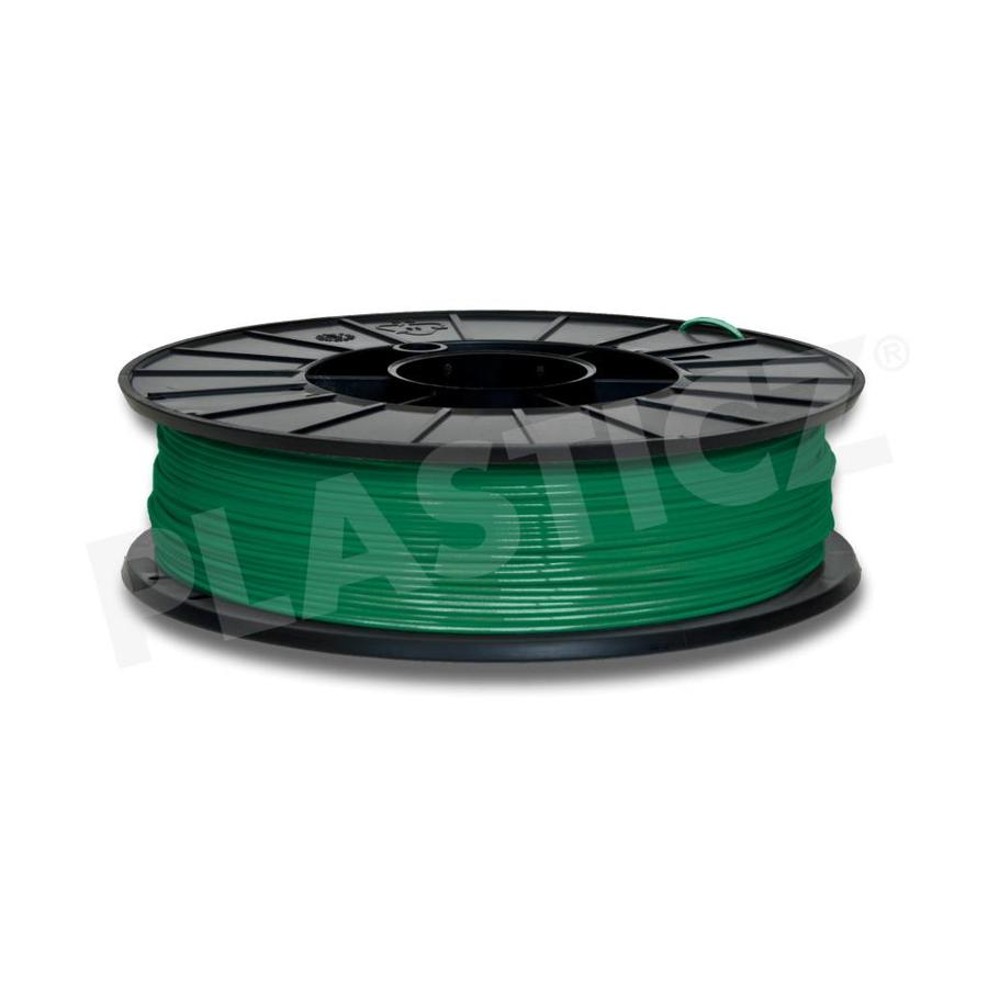 PLA Traffic Green / Groen: RAL 6024, 1.75 / 2.85 mm, 1.000 grams, (1 KG), Plasticz, PLA Filament-1