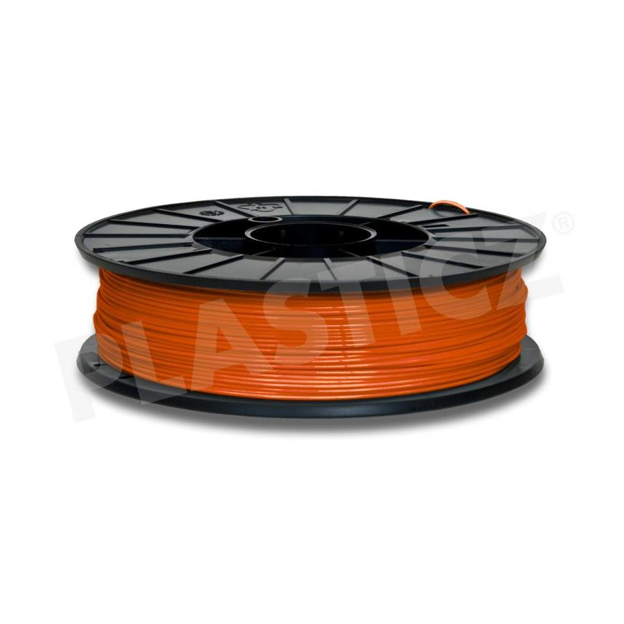 PLA Traffic Orange / Oranje: RAL 2009, 1.75 - 2.85 mm, 1.000 gram (1 KG), Plasticz, filament-1