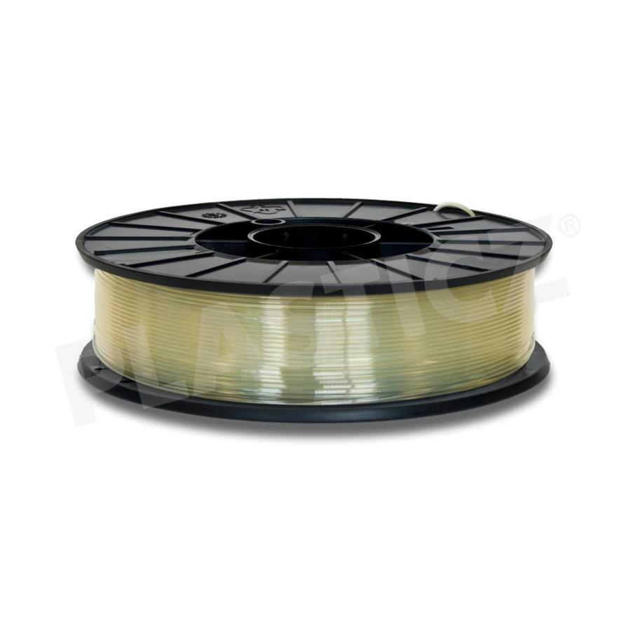 PLA Natural / Neutraal, 1.75 - 2.85 mm, 1.000 gram (1 kg), Plasticz, filament-1