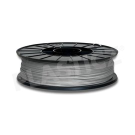 Plasticz Metallic Grey / Grijs: RAL 7045, 1.75 mm PLA, 1.000 gram, Plasticz