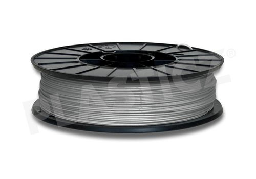 Plasticz PLA Metallic Grey / Grijs: RAL 7045, 1.75 - 2.85 mm, 1.000 grams (1 kg), Plasticz, filament