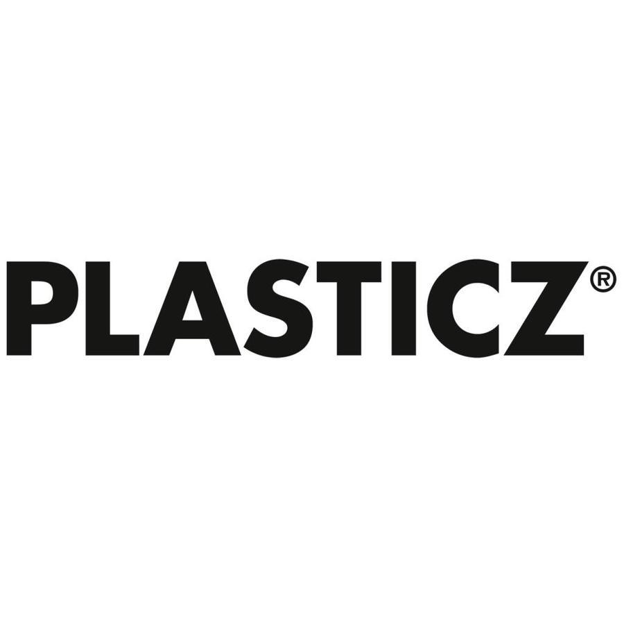 PLA Traffic White / Wit: RAL 9016, 1.75 / 2.85 mm PLA, 1.000 grams (1 KG) Plasticz-2