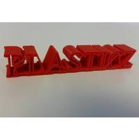thumb-PLA Traffic Rood / Red: RAL 3020, 1.75 / 2.85 mm 1.000 grams (1 KG) Plasticz-2