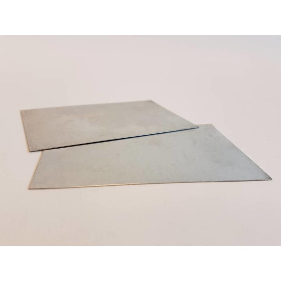 Metalen stelkaart: afstand nozzle - printbed / printbed leveling