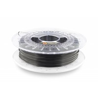 thumb-1.75 mm Flexfill 98A Traffic Black RAL 9017: semi flexible 3D filament, natural, 500 grams (0.5 KG)-1