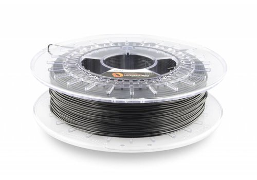Fillamentum 1.75 mm Flexfill 98A Traffic Black RAL 9017: semi flexible 3D filament, 500 grams (0.5 KG)