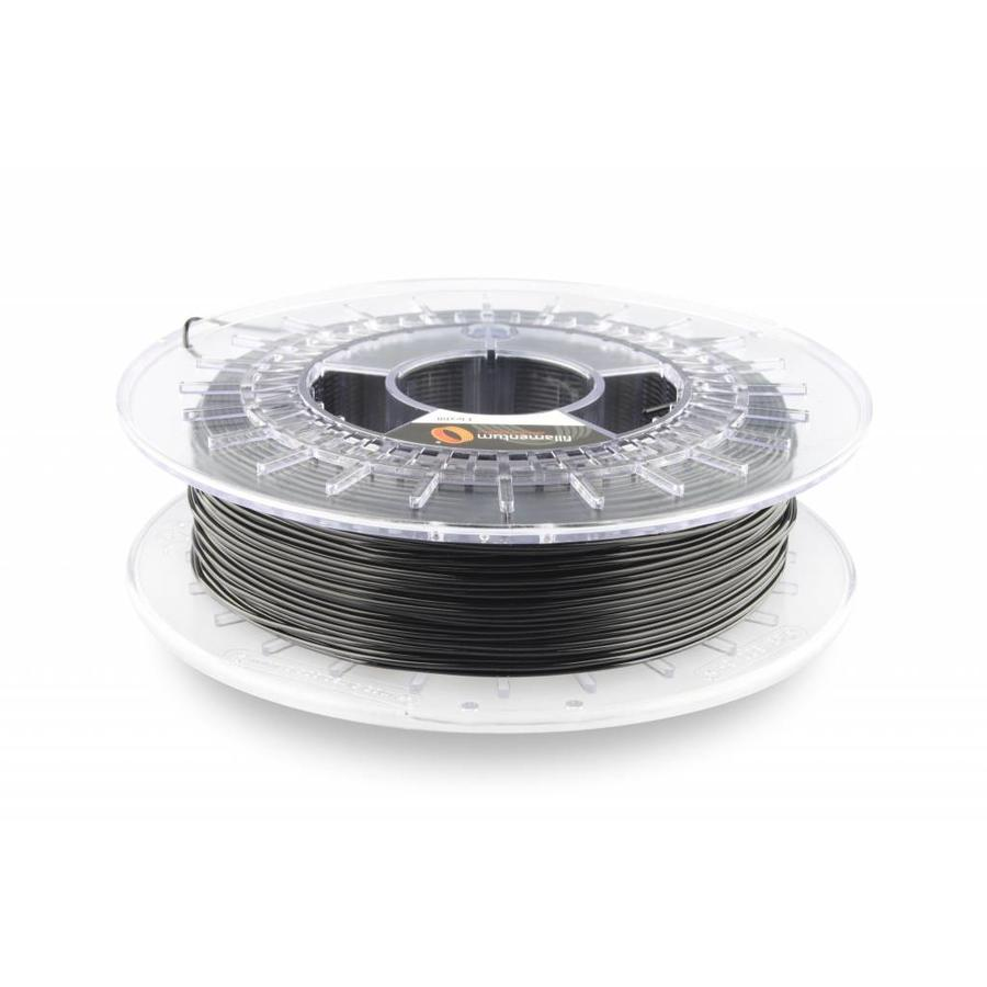 Flexfill 98A Traffic Black RAL 9017: semi-flexibel filament, 500 gram (0.5 KG)