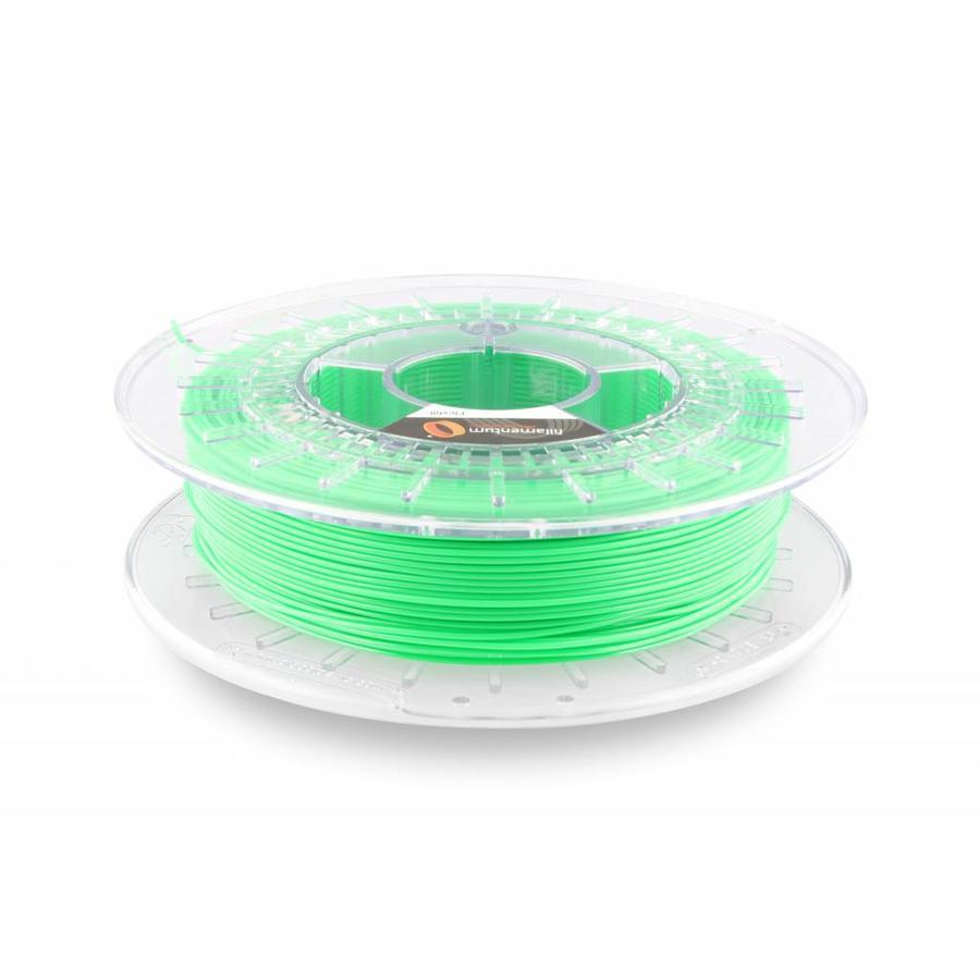 Flexfill 98A Luminous Green RAL 6038: semi-flexibel filament, 500 gram (0.5 KG)-1