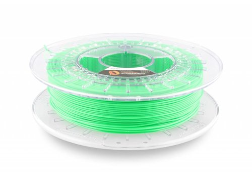 Fillamentum Flexfill 92A Luminous Green RAL 6038/ Fluorescerend Groen: flexibel 3D filament, natural, 500 gram