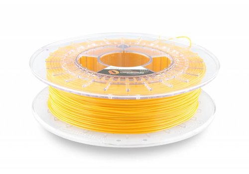 1.75 mm Flexfill 98A Signal Yellow RAL 1003: semi flexible 3D filament, 500 grams (0.5 KG)