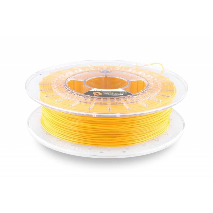Flexfill 92A Signal Yellow RAL 1003: flexibel 3D filament, 500 gram (0.5 KG)-1