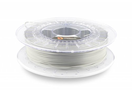 Fillamentum Flexfill 92A Metallic Grey: flexibel 3D filament, 500 gram (0.5 KG)