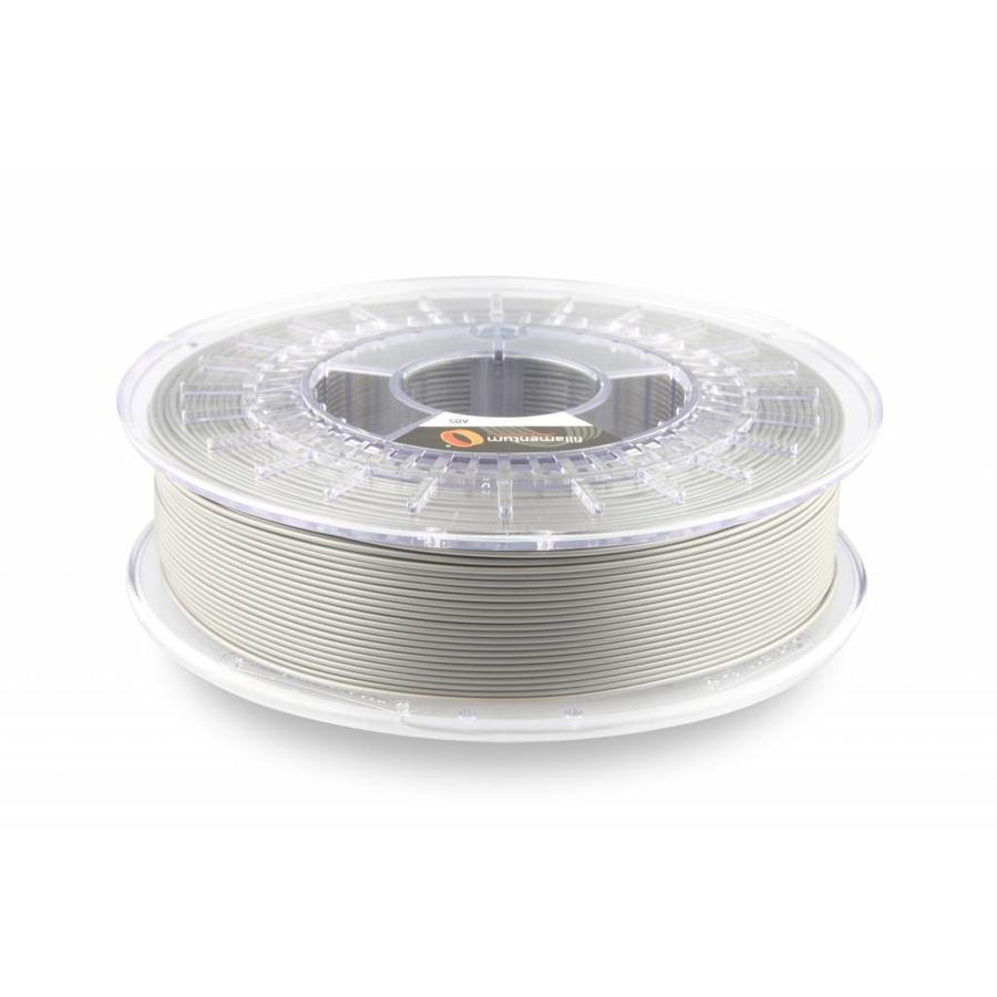 ABS Metallic Grey, 1.75 / 2.85 mm, 750 grams (0.75 KG)