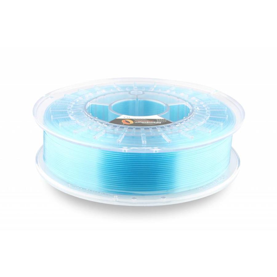 "PLA Crystal Clear-""Iceland Blue"", 1.75 / 2.85 mm, 750 gram (0.75 KG)-1"