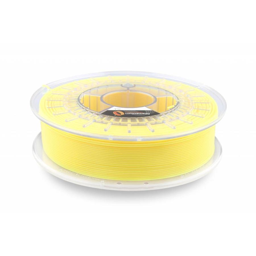 PLA Luminous Yellow / Geel: RAL 1026, 1.75 / 2.85 mm, 750 gram (0.75 KG)
