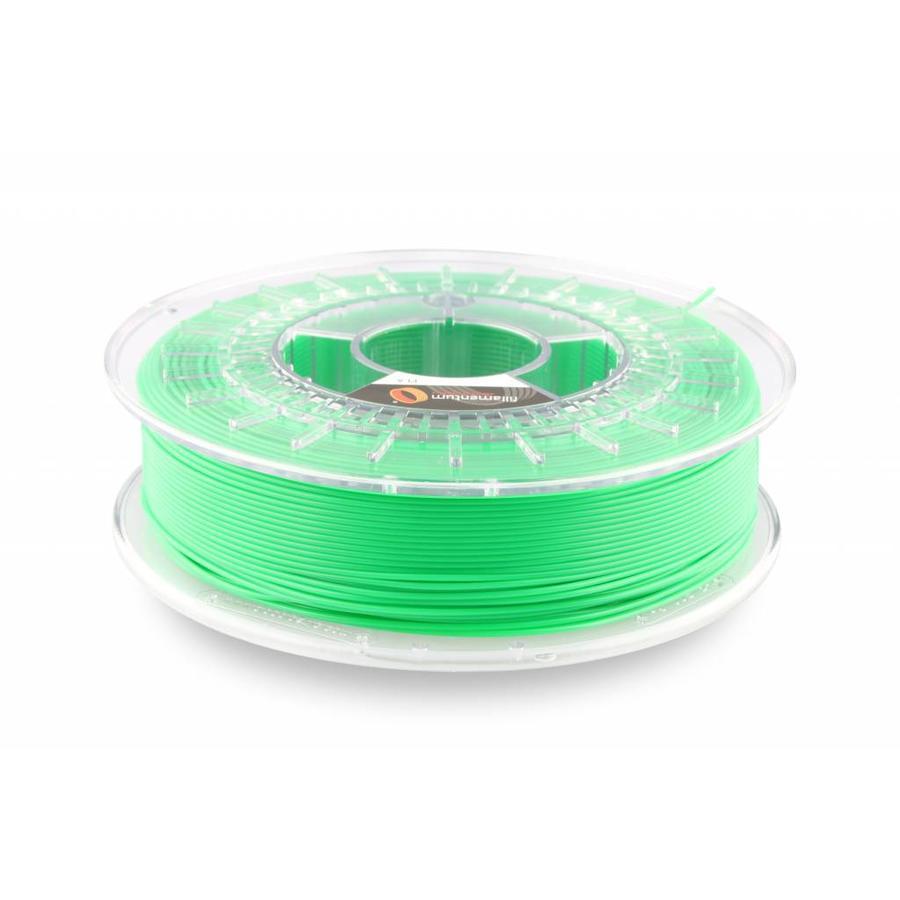 PLA Luminous Green/Groen: RAL 6038 , 1.75 / 2.85 mm, 750 gram (0.75 KG)