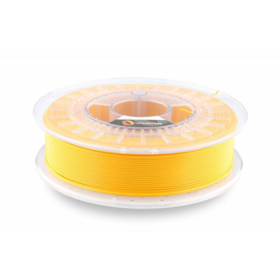 PLA Signal Yellow / Geel: RAL 1003, 1.75 / 2.85 mm, 750 grams (0.75 KG) - Copy