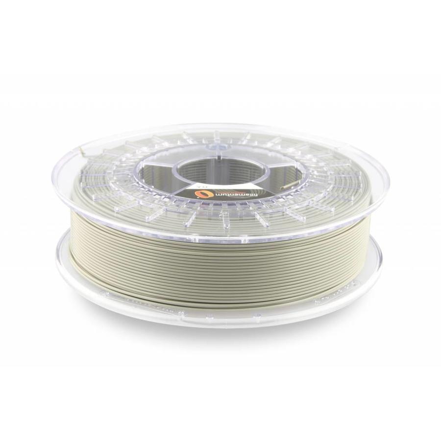 PLA Concrete Grey: RAL 7023 / PMS 424, 1.75 / 2.85 mm PLA Extrafill, 750 gram (0.75 KG)