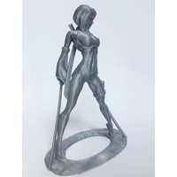 thumb-PLA Rapunzel Silver / Zilver, 1.75 / 2.85 mm, 750 grams (0.75 KG)-3