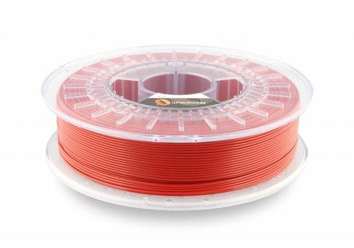 Fillamentum PLA Traffic Red / Rood: RAL 3020, 1.75 / 2.85 mm, 750 gram (0.75 KG)