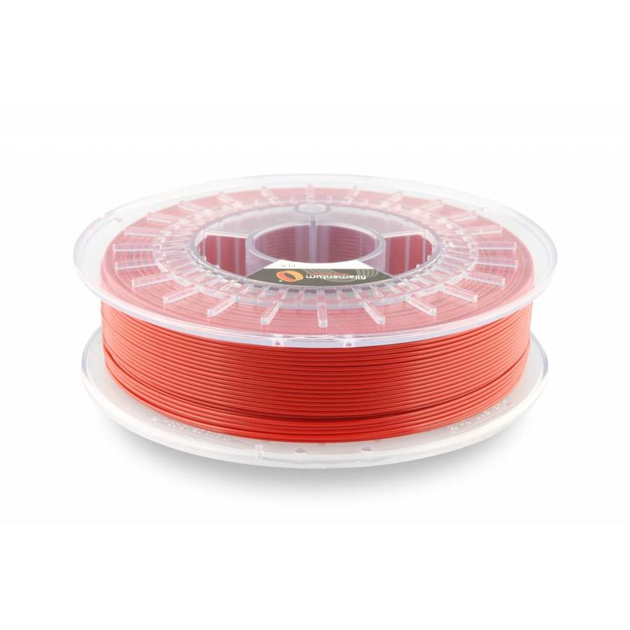PLA Traffic Red / Rood: RAL 3020, 1.75 / 2.85 mm, 750 gram (0.75 KG)