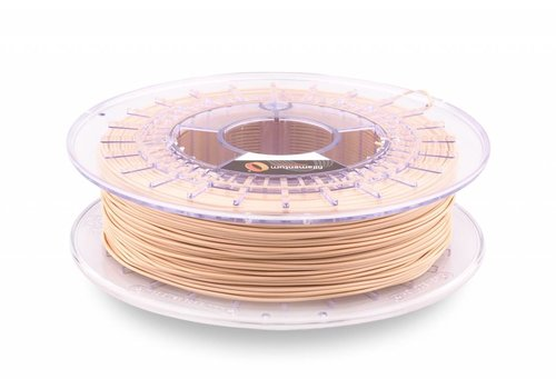 Fillamentum Flexfill Powder Beige 98A: semi-flexibel 3D filament, 500 gram