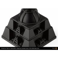 thumb-CPE (co-polyester) HG100 Gloss, Black Soul, 1.75 / 2.85 mm, 750 gram (0.75 KG) 3D filament-2