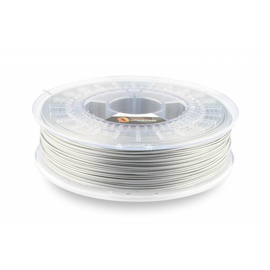 PLA Rapunzel Silver / Zilver, 1.75 / 2.85 mm, 750 gram (0.75 KG)
