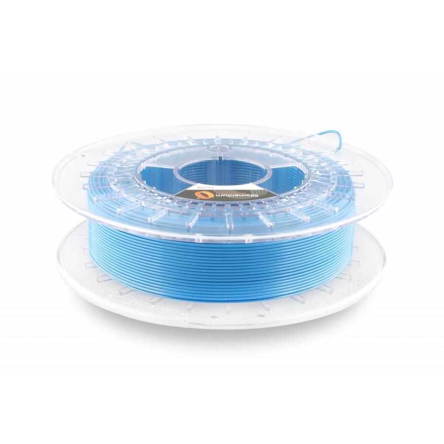 Flexfill 98A Sky Blue RAL 5015 / PMS 3015: semi-flexible 3D filament, 500 grams-1