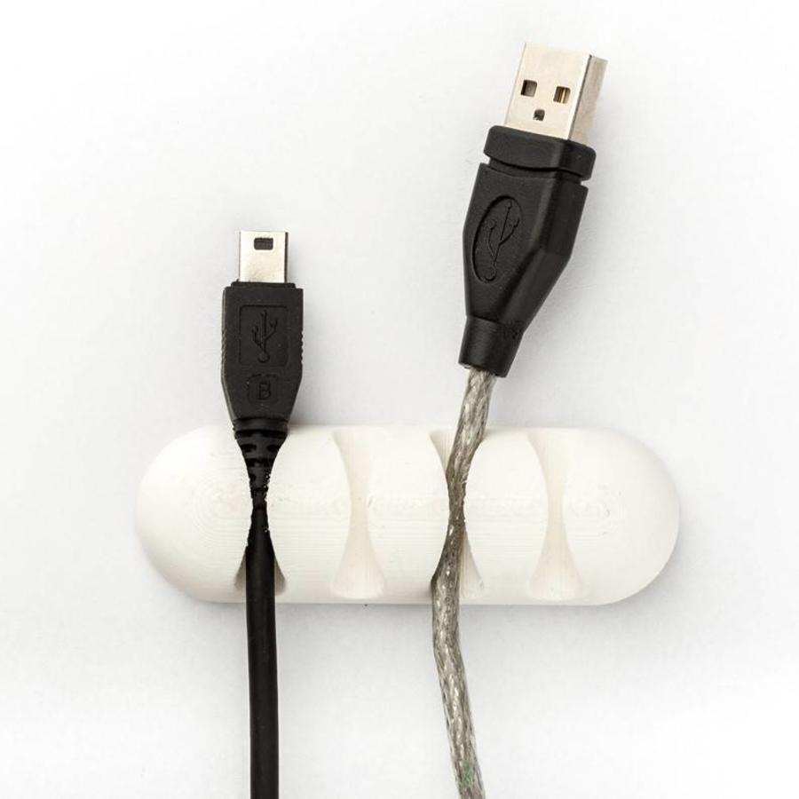 Flexfill 98A Traffic White: semi-flexibel 3D filament, RAL 9016 / PMS 705, 500 grams-4