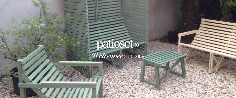 slider patioset voorjaar