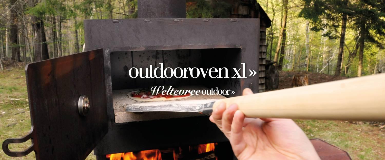 Slider outdooroven XL voorjaar