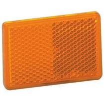 Reflector zelfklevend oranje 70x30 mm