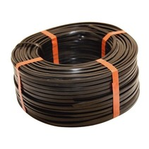 Platte kabel 2-aderig (Aspöck) per meter