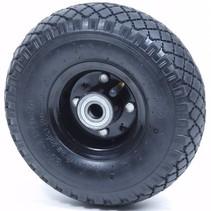 Steekwagenwiel 3.00 - 4 luchtband (stalen velg)