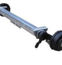 BPW As - 1350kg - pad 1200mm - flens 1650