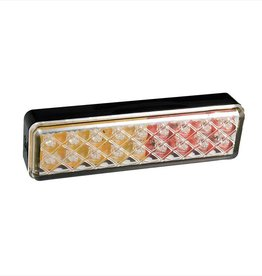 Achterlicht 12/24V LED 135x38mm3 functies