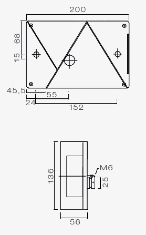 Verlichting aspock - Achterlicht - Multipoint 4 | AanhangwagenDirect ...