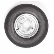 Vredestein wiel 4.00 - 8 4x115 335kg 6PR