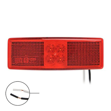 Zijmarkeringslamp Rood LED 110x40 mm