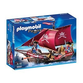 Playmobil pl6681 - Soldatenzeilschip met kanonnen