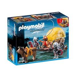Playmobil pl6005 - Camouflage hooiwagen valkenridders