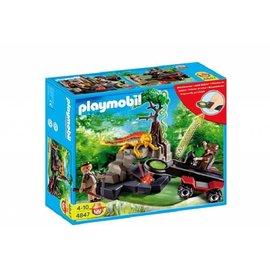 Playmobil pl4847 - Schattenjager met kristaldetector