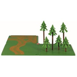 Siku SK5699 - SIKU World - landweg en bos