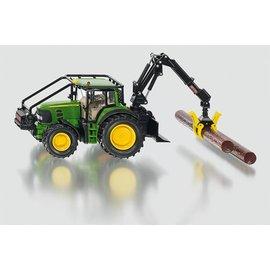 Siku 1:32 John Deere tractor met bomengrijper