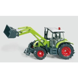Siku 1:32 Claas traktor met frontlader