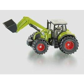 Siku 1:50 Claas tractor met frontlader
