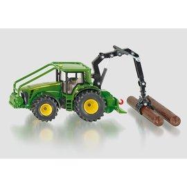 Siku 1:50 John Deere 8430 met houtgrijper