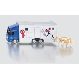 Siku SK1942 - 1:50 Truck voor paardenvervoer