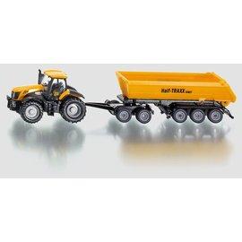 Siku 1:87 Tractor met dolly en kiepwagen